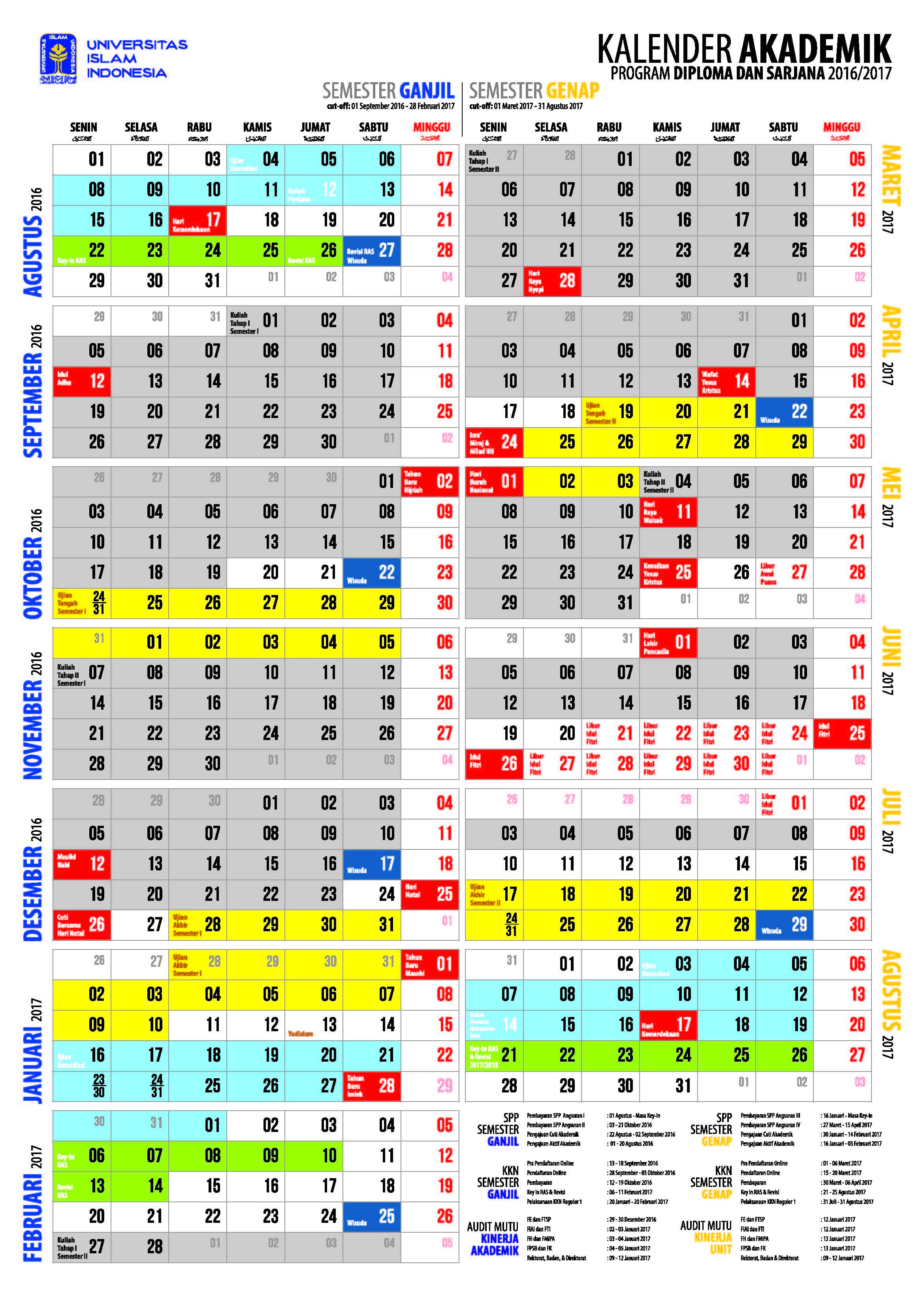 kalender akademik 1